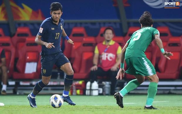 Xuất sắc cầm hòa Iraq, đội tuyển Thái Lan lần đầu tiên trong lịch sử vượt qua vòng bảng giải U23 châu Á - Ảnh 12.