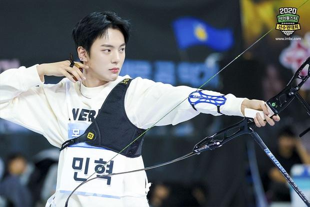 Vắng Tzuyu (TWICE), mỹ nam SF9 khiến fan điên đảo khi kế thừa ngôi Vị thần bắn cung tại đại hội thể thao Idol - Ảnh 6.