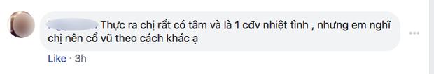 Nhiều người tràn vào Facebook cá nhân để sỉ nhục nữ CĐV cầm loa hát Bay lên trời là em bay ra ngoài: Fan bóng đá có văn hóa thì không làm thế - Ảnh 10.