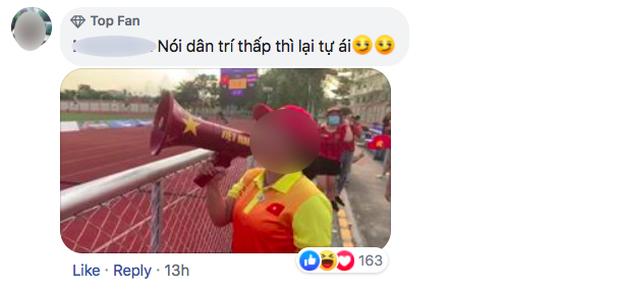 Nhiều người tràn vào Facebook cá nhân để sỉ nhục nữ CĐV cầm loa hát Bay lên trời là em bay ra ngoài: Fan bóng đá có văn hóa thì không làm thế - Ảnh 8.