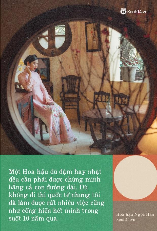 Hoa hậu Ngọc Hân nhìn lại một thập kỷ đăng quang, lần đầu lên tiếng xác nhận về danh tính bạn trai từng bị đồn đoán đã lâu - Ảnh 4.