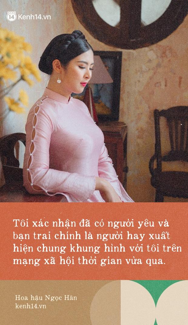 Hoa hậu Ngọc Hân nhìn lại một thập kỷ đăng quang, lần đầu lên tiếng xác nhận về danh tính bạn trai từng bị đồn đoán đã lâu - Ảnh 6.