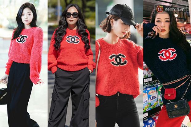 """Jennie chính là """"thánh tạo trend"""" của 2019: Sao Việt và hot girl châu Á copy rần rần, các shop may bắt chước đồ y chang - Ảnh 4."""