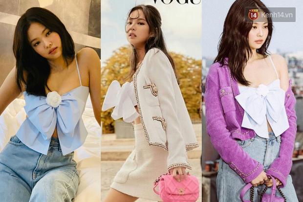 """Jennie chính là """"thánh tạo trend"""" của 2019: Sao Việt và hot girl châu Á copy rần rần, các shop may bắt chước đồ y chang - Ảnh 1."""