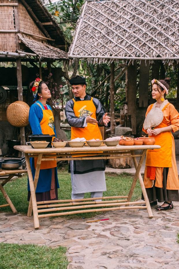Lâm Vỹ Dạ bị bố chồng Xuân Bắc cho ăn hành trong show Tết - Ảnh 4.