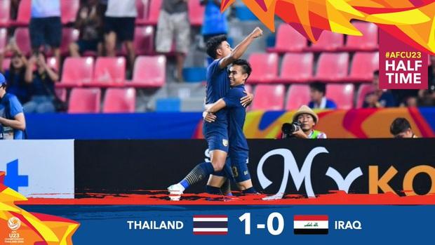 Xuất sắc cầm hòa Iraq, đội tuyển Thái Lan lần đầu tiên trong lịch sử vượt qua vòng bảng giải U23 châu Á - Ảnh 11.