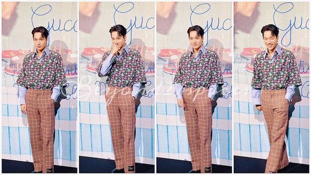 Góc tức dùm: Kai đẹp trai thế này nhưng sự chú ý của fan lại chỉ dành cho tấm backdrop viết ẩu của Gucci mà thôi! - Ảnh 6.