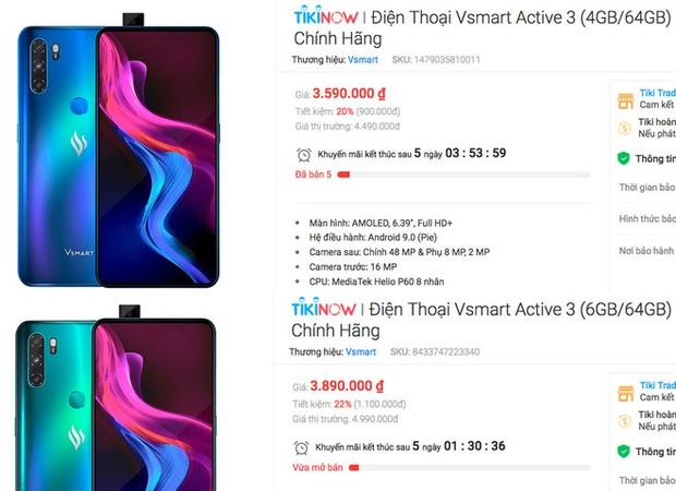 Điện thoại mới của Vsmart khuyến mại mạnh chỉ sau vài tuần ra mắt - Ảnh 3.