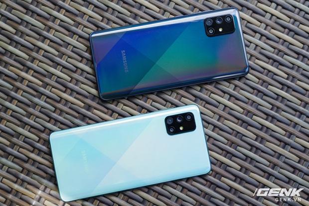 Samsung chính thức ra mắt Galaxy A71: 4 camera lên tới 64MP, pin 4500mAh, sạc nhanh 25W giá 10,49 triệu  - Ảnh 4.