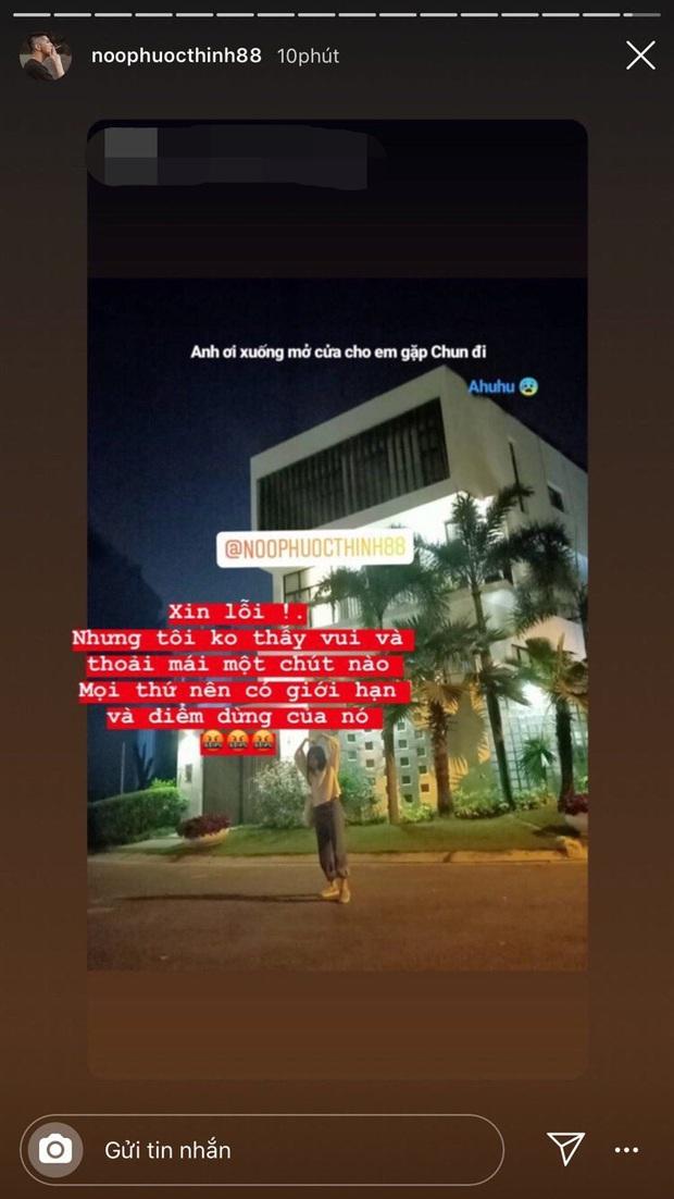 """Noo Phước Thịnh đăng đàn bức xúc khi fan cuồng tới tận cửa nhà check in giữa đêm: """"Tôi không thấy vui và thoải mái một chút nào"""" - Ảnh 1."""