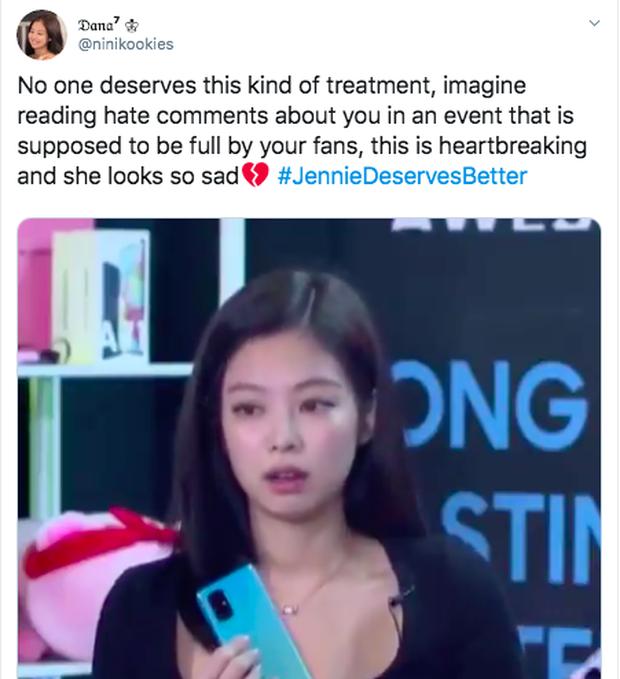Fan toàn cầu quyết đòi lại công bằng sau loạt clip Jennie (BLACKPINK) có biểu hiện như sắp khóc trên sóng livestream - Ảnh 7.