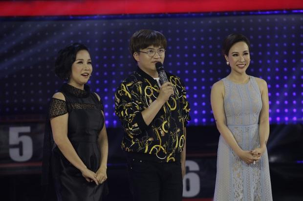 Giọng ải giọng ai: Trấn Thành bất ngờ khi Diva Mỹ Linh là một vựa muối - Ảnh 1.