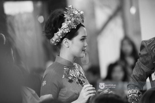Khoảnh khắc đẹp trong đám hỏi Quỳnh Anh - Duy Mạnh: Chú rể toe toét cười từ đầu đến cuối, hẳn là vì rước được công chúa béo về dinh - Ảnh 8.