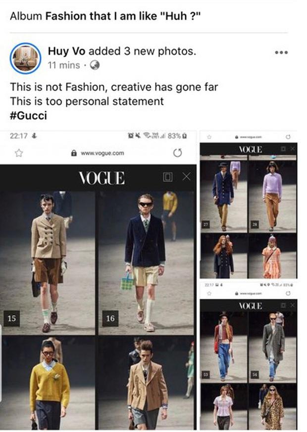 Gucci vừa tung BST mới đã sớm khiến dân tình tranh cãi, NTK Đỗ Mạnh Cường tiên phong chê cực lực - Ảnh 5.
