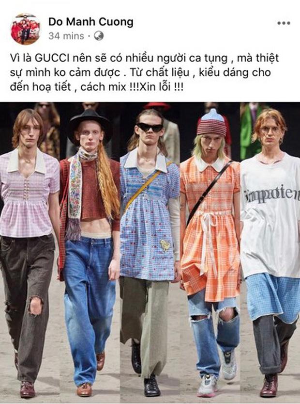 Gucci vừa tung BST mới đã sớm khiến dân tình tranh cãi, NTK Đỗ Mạnh Cường tiên phong chê cực lực - Ảnh 4.