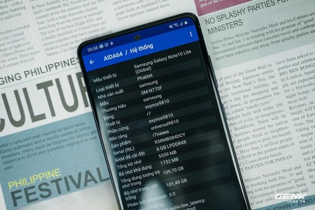 Đây là Samsung Galaxy Note10 Lite vừa trình làng: Vỏ nhựa, chip như Note9, pin hơn Note10, giá chính hãng 13.9 triệu - Ảnh 13.