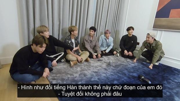 Fan sướng rơn vì tiếng Việt phiên bản... chị Google xuất hiện trong show của BTS - Ảnh 3.