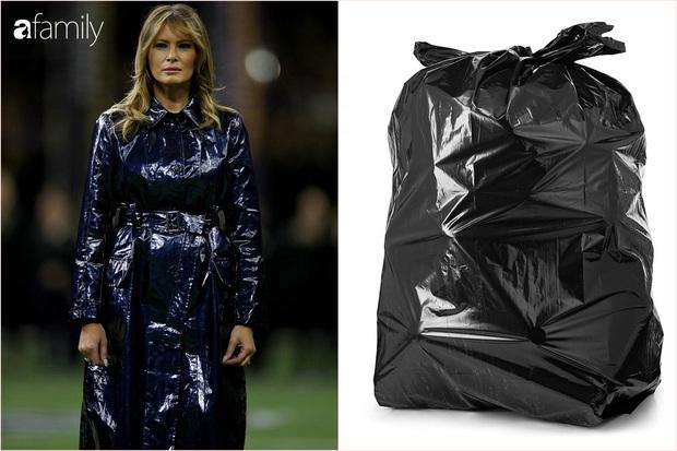 Đắng lòng cho phu nhân Melania Trump: Diện áo hiệu 50 triệu mà bị ví như khoác túi đựng rác - Ảnh 3.