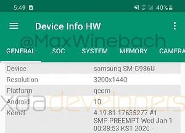 Lộ diện video trên tay Samsung Galaxy S20 Plus: Không còn cong nhiều, màn hình 120Hz, mất jack cắm tai nghe 3.5mm - Ảnh 4.