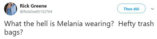Đắng lòng cho phu nhân Melania Trump: Diện áo hiệu 50 triệu mà bị ví như khoác túi đựng rác - Ảnh 4.