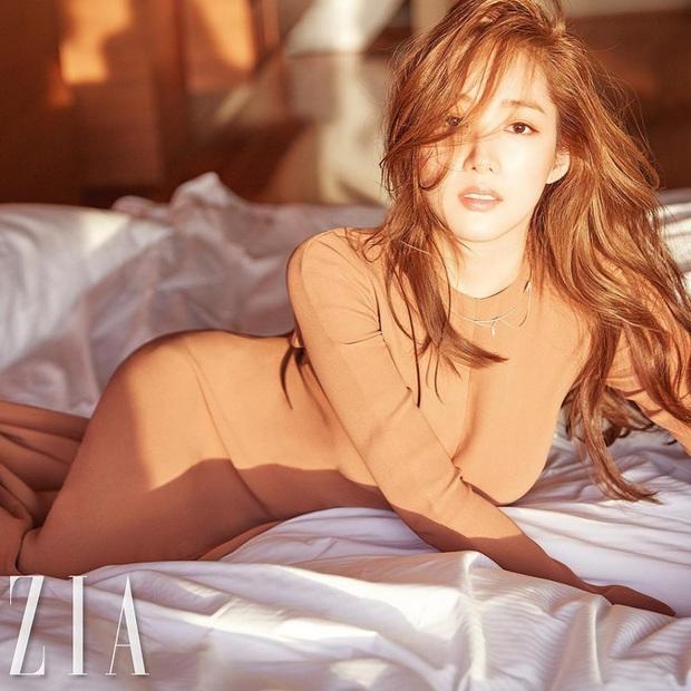 Đỏ mặt với 4 cảnh nóng của Park Min Young trên màn ảnh: Hot nhất là pha giường chiếu cùng bạn trai tin đồn Park Seo Joon - Ảnh 1.