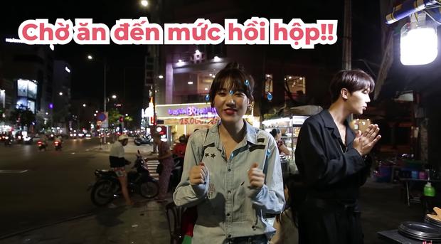 Trốn Trấn Thành, Hari Won dắt trai đẹp Hàn Quốc đi ăn bánh xèo và bánh cống ở quán ăn vỉa hè - Ảnh 4.