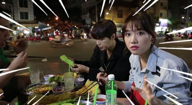 Trốn Trấn Thành, Hari Won dắt trai đẹp Hàn Quốc đi ăn bánh xèo và bánh cống ở quán ăn vỉa hè - Ảnh 9.