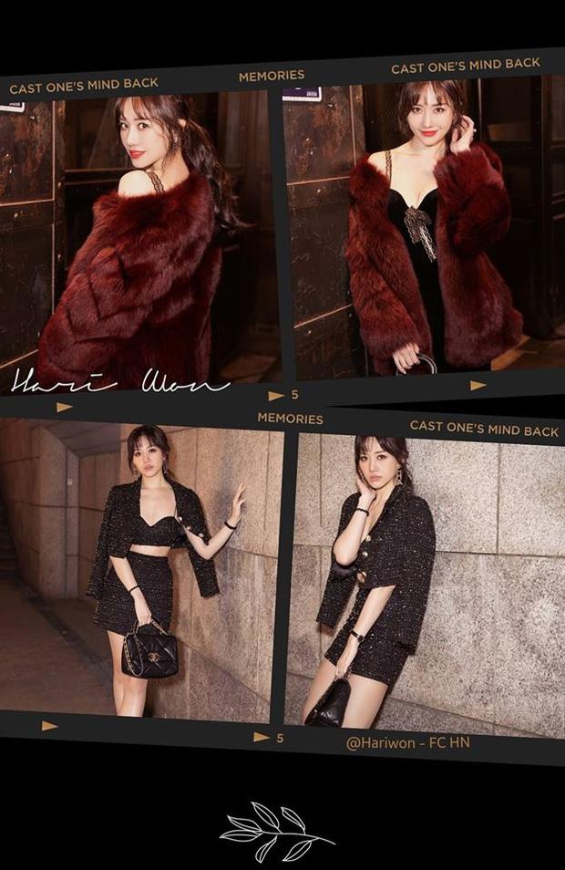 Đến thua Hari Won: Chụp ảnh thời trang toàn đồ hiệu mà trên tay vẫn đeo dây buộc tóc lò xo hàng chợ, nhưng nom lại ton sur ton - Ảnh 2.