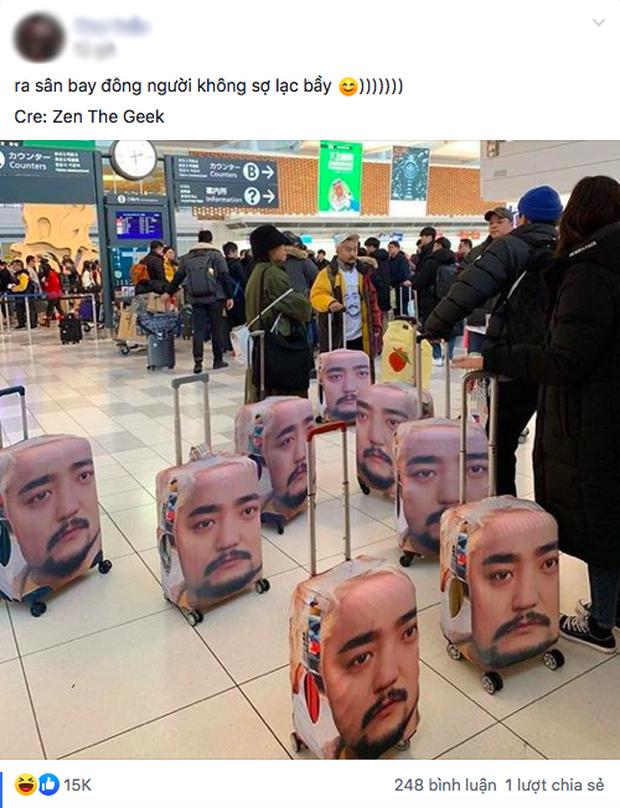 Đi du lịch sợ lạc đoàn, nam idol xứ Hàn làm một hành động khiến dân mạng cười muốn xỉu: Ăn chắc mặc bền dễ sợ! - Ảnh 2.
