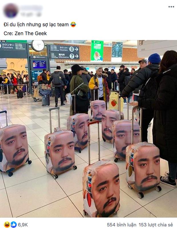 Đi du lịch sợ lạc đoàn, nam idol xứ Hàn làm một hành động khiến dân mạng cười muốn xỉu: Ăn chắc mặc bền dễ sợ! - Ảnh 1.