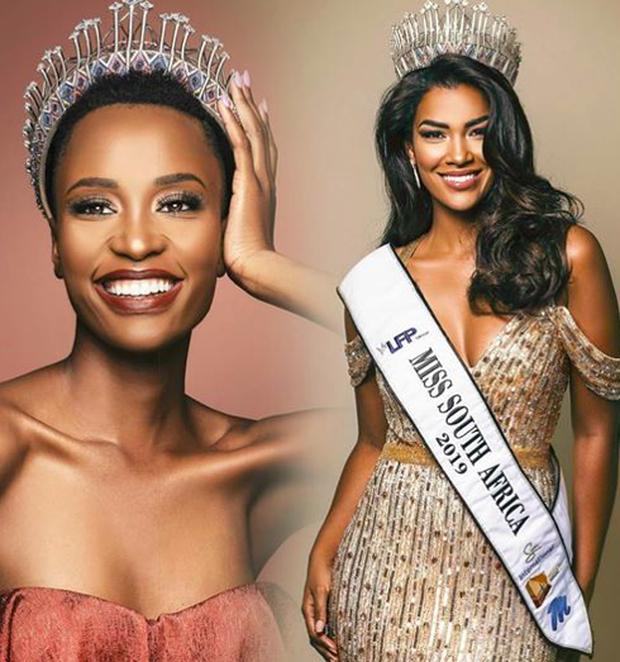 Đăng quang chưa lâu, Hoa hậu Hoàn Vũ 2019 người Nam Phi phải nhường danh hiệu cho Á hậu 1 tại quê nhà! - Ảnh 1.