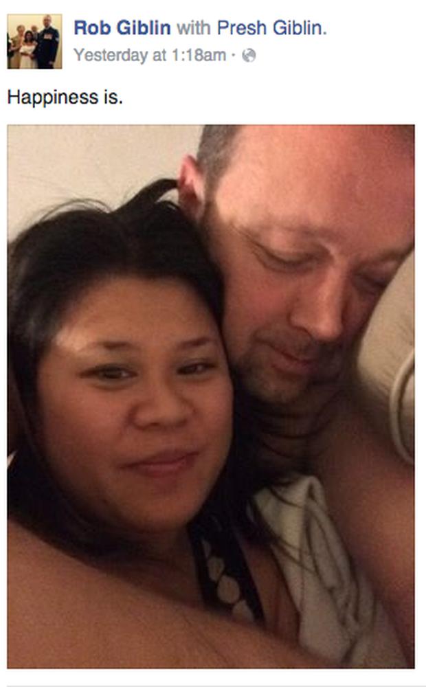 Chồng đăng ảnh selfie cùng vợ bầu lên Facebook khoe hạnh phúc viên mãn, không ai ngờ rằng Tử Thần ẩn nấp gây ra bi kịch đẫm máu ngay sau đó  - Ảnh 1.