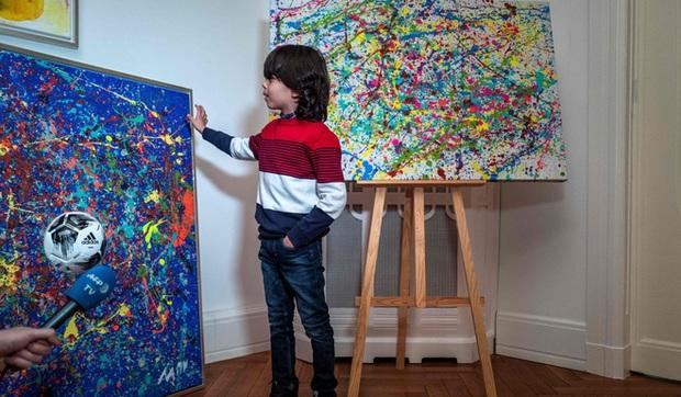 Picasso nhí của Đức gây ra cơn bão trong thế giới nghệ thuật dù mới chỉ 7 tuổi - Ảnh 2.