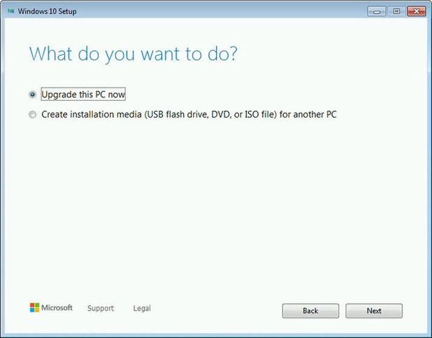 Đây là cách để cập nhật từ Windows 7 lên Windows 10 hoàn toàn miễn phí, vẫn giữ bản quyền - Ảnh 2.