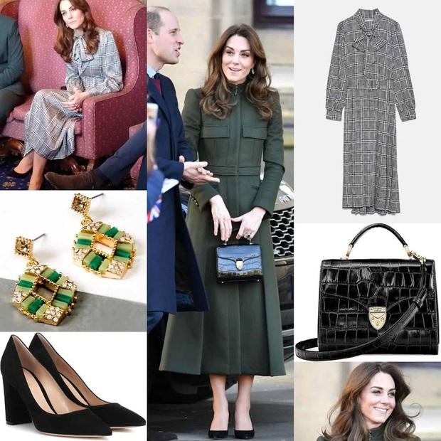 Giữa scandal Hoàng gia, Công nương Kate xuất hiện rạng rỡ, diện váy sale vài trăm ngàn mà vẫn sang ngút ngàn - Ảnh 9.