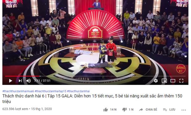 Chỉ mới 12 tiếng, các clip dự thi Thách thức danh hài của 5 chú tiểu đã đạt được gần 4 triệu view - Ảnh 6.
