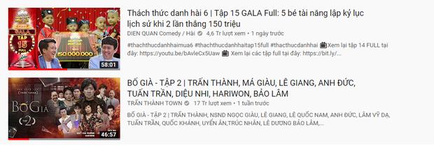 Clip 5 chú tiểu thi Thách thức danh hài soán ngôi top 1 Trending YouTube của bố già Trấn Thành chưa đầy 1 ngày lên sóng - Ảnh 1.