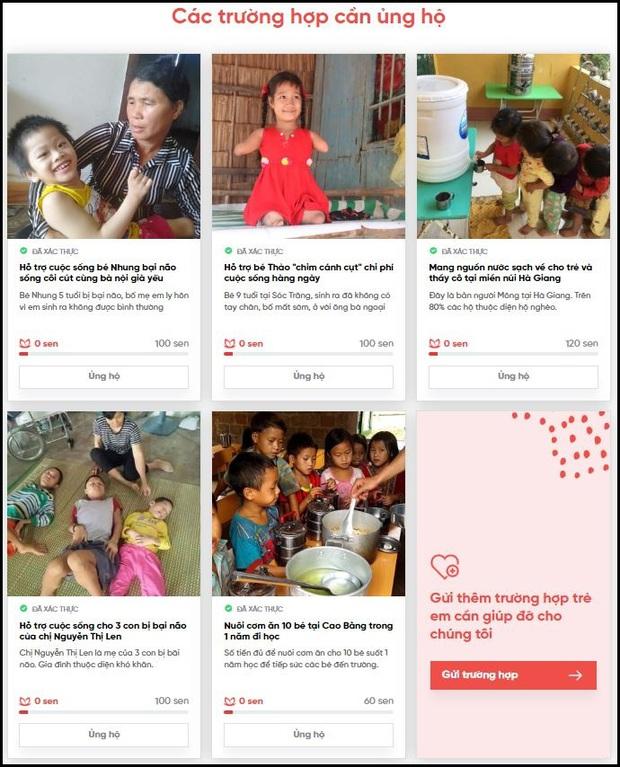 Mặt trời cho em: MXH Lotus chính là nền tảng để mọi người cùng làm từ thiện - Ảnh 8.