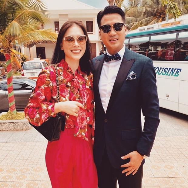 Đám cưới của thành viên gia đình triệu đô: Hà Tăng khoe công chúa lớn phổng phao, Phillip Nguyễn và Linh Rin sánh đôi - Ảnh 4.