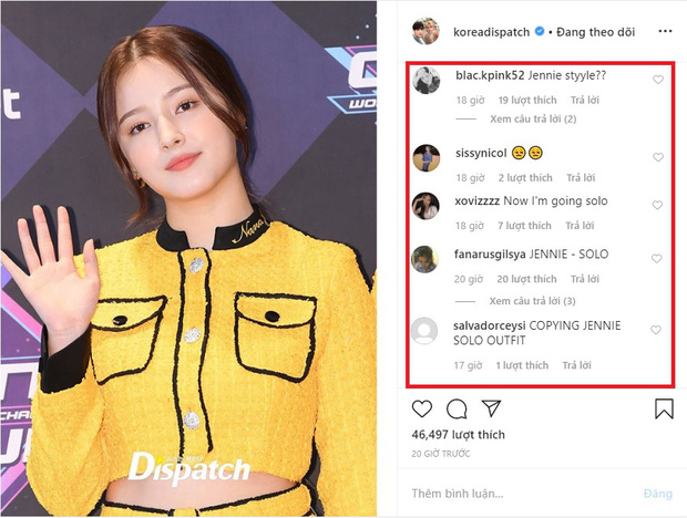 Fan quốc tế tố Nancy bắt chước outfit huyền thoại của Jennie, fan Việt đập lại với lý lẽ đâu ra đó - Ảnh 1.