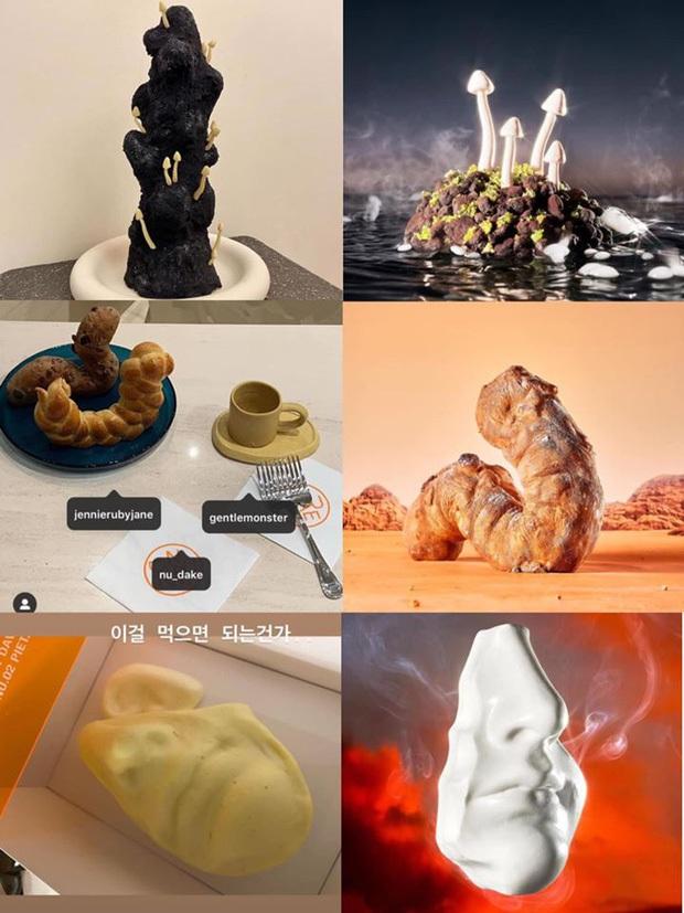"""Lác mắt với độ """"fancy"""" của chiếc bánh kem Jennie (BLACKPINK) được tặng dịp sinh nhật, kèm thêm bộ trang sức bằng kẹo siêu tinh xảo! - Ảnh 12."""