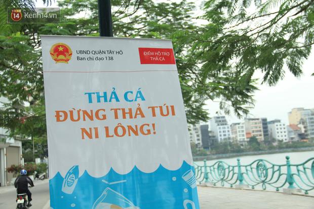 Hà Nội: Người dân thích thú với thông điệp Ông Táo không dùng túi nilon, hồ Tây không còn cảnh túi nilon nổi trắng dập dềnh - Ảnh 5.