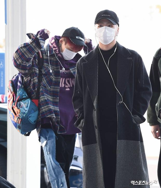 Ông hoàng Kpop G-Dragon gây bão tại sân bay, 2 boygroup NCT - iKON đại diện 2 ông lớn đụng độ khốc liệt - Ảnh 16.