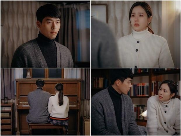 tvN hé lộ loạt ảnh tình tứ của đôi trẻ ở tập 9 Crash Landing on You, đập tan nghi án Son Ye Jin mất mạng vì nổ súng? - Ảnh 1.