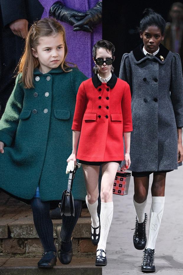 Dân tình đồn đoán Công chúa Charlotte chính là nguồn cảm hứng cho những thiết kế gây tranh cãi của Gucci - Ảnh 1.