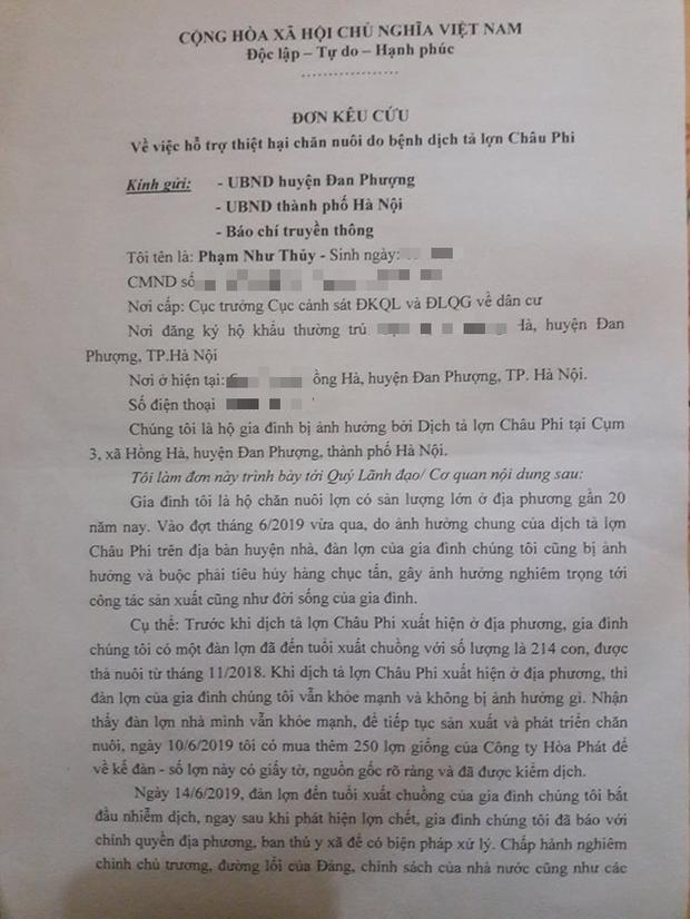 Hà Nội: Phải tiêu hủy 214 con lợn mà chưa được nhận tiền hỗ trợ, người dân có nguy cơ mất Tết - Ảnh 2.