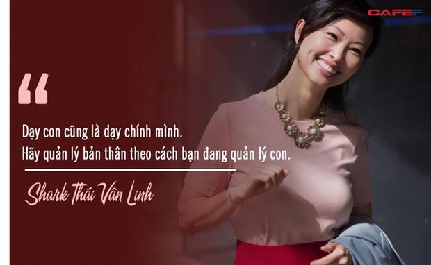 Shark Thái Vân Linh chia sẻ quy tắc để làm việc năng suất hơn: Dạy con cũng là dạy chính mình, hãy quản lý bản thân theo cách bạn đang quản lý con - Ảnh 1.