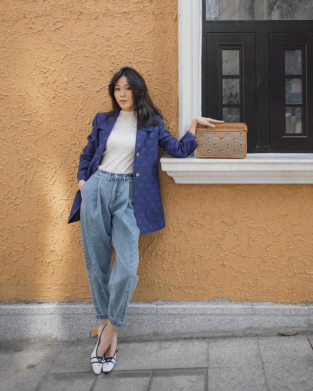 Diện lại đồ cũ vẫn cứ chất lừ với 11 gợi ý từ street style của hội sành mặc châu Á - Ảnh 9.