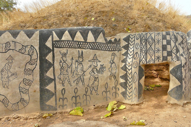 Ghé thăm làng đất nung độc đáo của quý tộc châu Phi, ngôi nhà nào cũng là tác phẩm nghệ thuật đặc sắc - Ảnh 13.