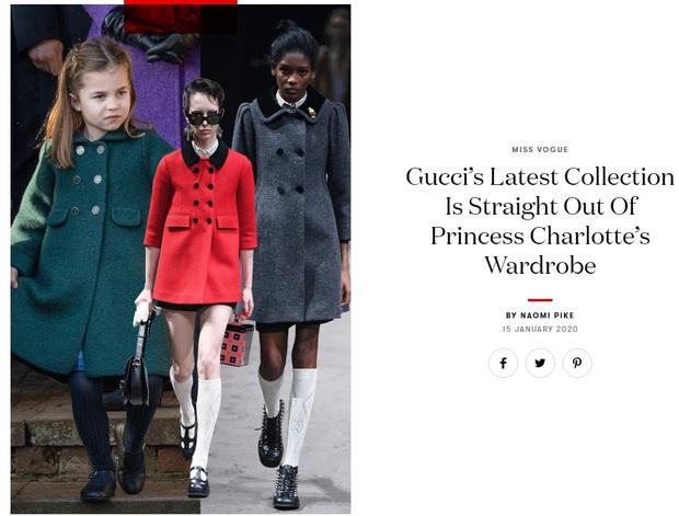 Dân tình đồn đoán Công chúa Charlotte chính là nguồn cảm hứng cho những thiết kế gây tranh cãi của Gucci - Ảnh 3.